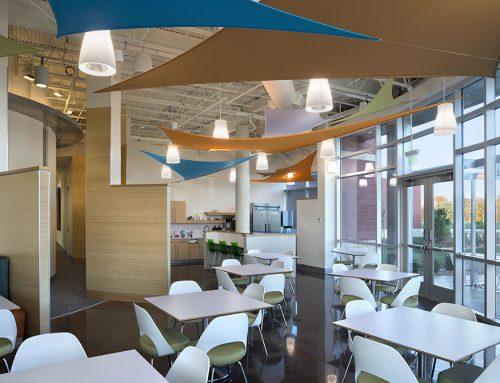 Lunch Room, Scott Credit Union, Edwardsville, Illinois