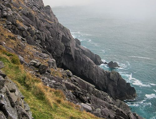 Cliff and Sea, Dingle Peninsula