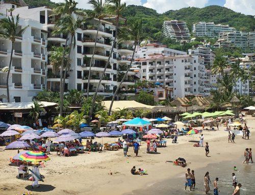 Beach Scene, Puerto Vallarta