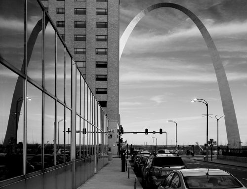 The Arch and Reflection, 2018