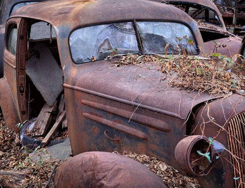 Car and Boards,  Ste. Genevieve, Missouri