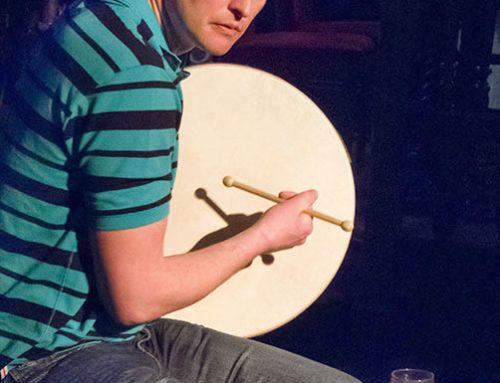 Irish Bodhran Drummer, Kyteller's Pub, Kilkenny