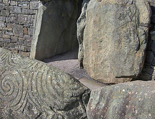 Tunnel Tomb Entrance, Newgrange