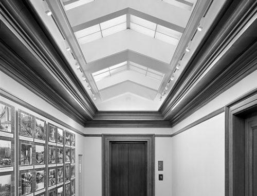 Hallway, St. Louis Public Library, 2018