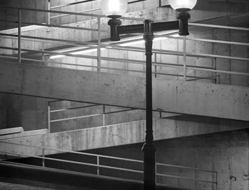 Street Lamp, Lacledes Landing, Night, 1986