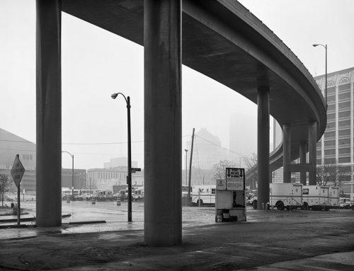 14th Street Ramp, Rain, 1989