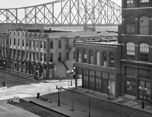 Laclede's Landing From the Eads Bridge, Morning, 1983