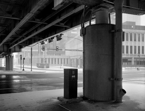 Washington and Fourth Street, Blizzard, 2019