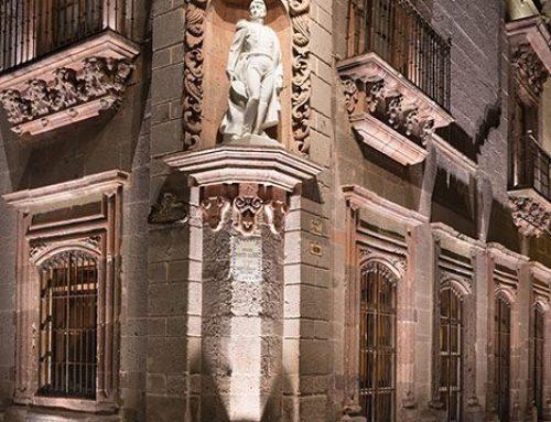 Statue of General Ignacio Allende, Night, San Miguel de Allende, Mexico, 2019