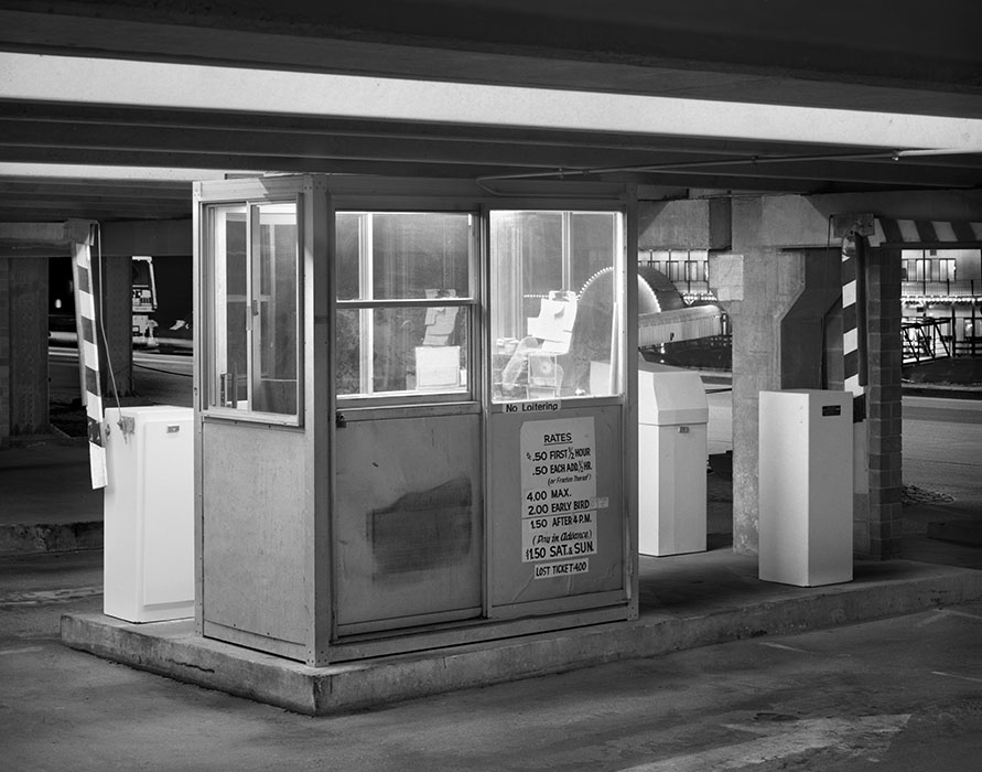 /product//parking-garage-booth-night-lacledes-landing-1982/