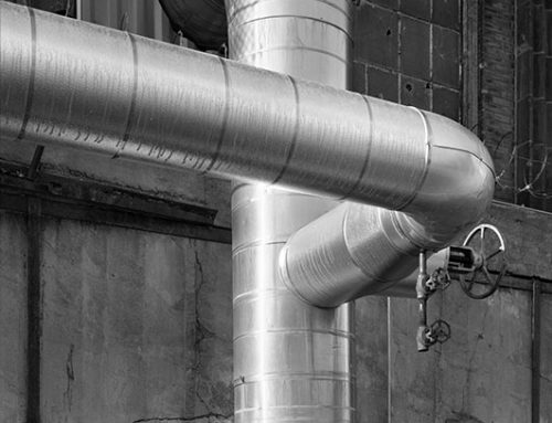 Steam Pipes, Union Light and Power Building, Laclede's Landing, 2020