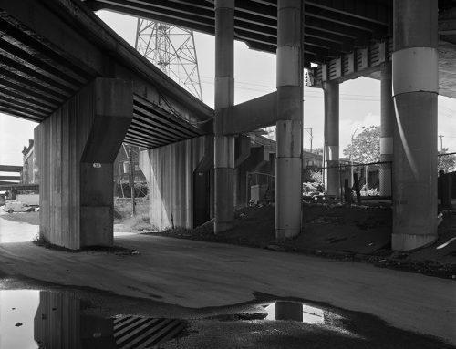 Poplar Street Bridge, Railroad Trestle, Chouteau's Landing, 2018