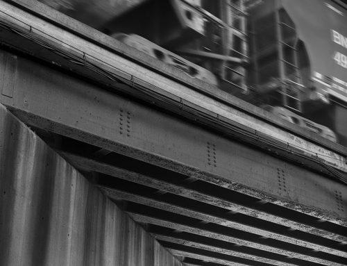 Elevated Railway Beneath the Poplar Street Bridge, 2020