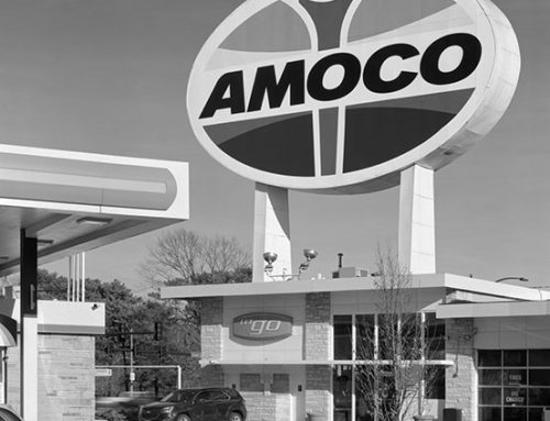 Amoco Station, MaCausland Avenue, 2020