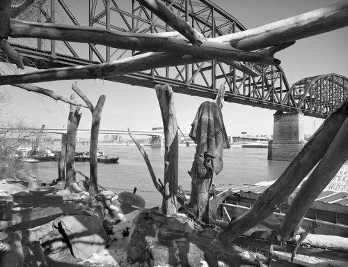Homeless Shelter 9, MacArthur Bridge, Winter, 2021