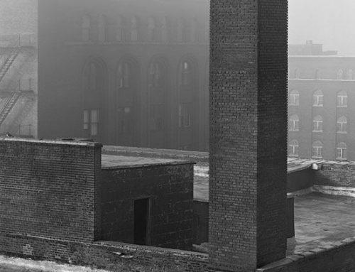 Cupples Station, Fog, Sunrise, 1997