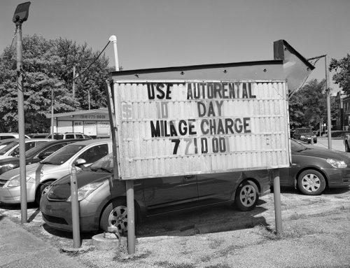 Used Car Lot, Chippewa Street, 2021