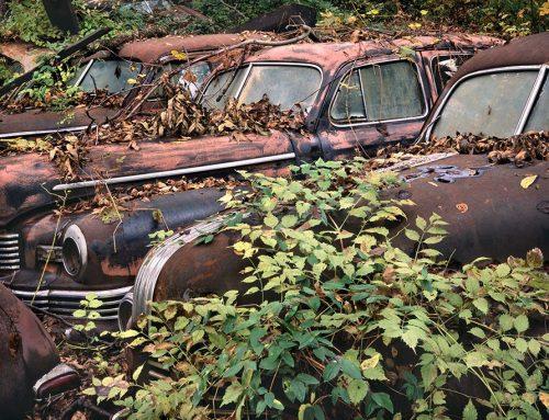 1947 Nash, 1949 Pontiac, Ivy, St. Genevieve, Missouri