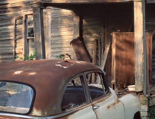 Old Car, Hoffman Home, St. Genevieve, Missouri