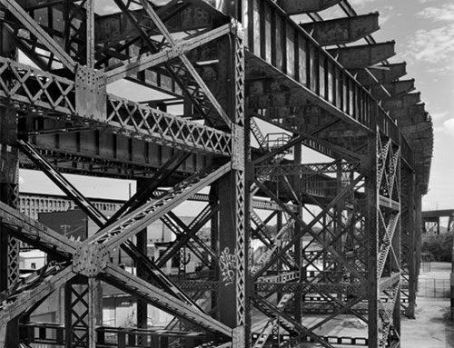Trestles of the MacArthur Bridge #2, Chouteau's Landing, 2021